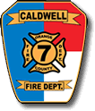 Caldwell Fire Department shield